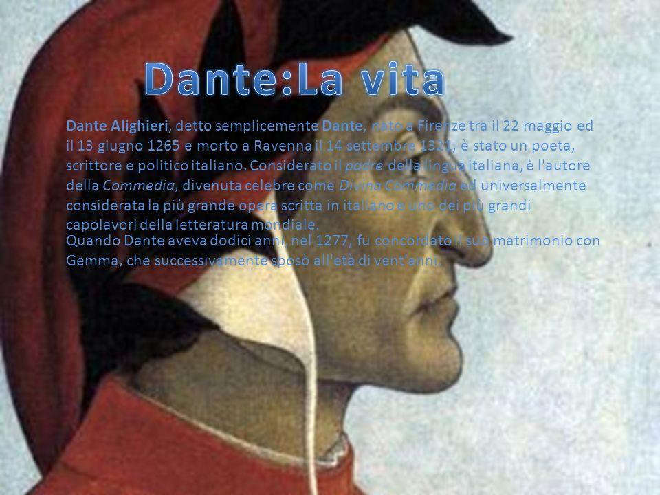 Dante:La vita