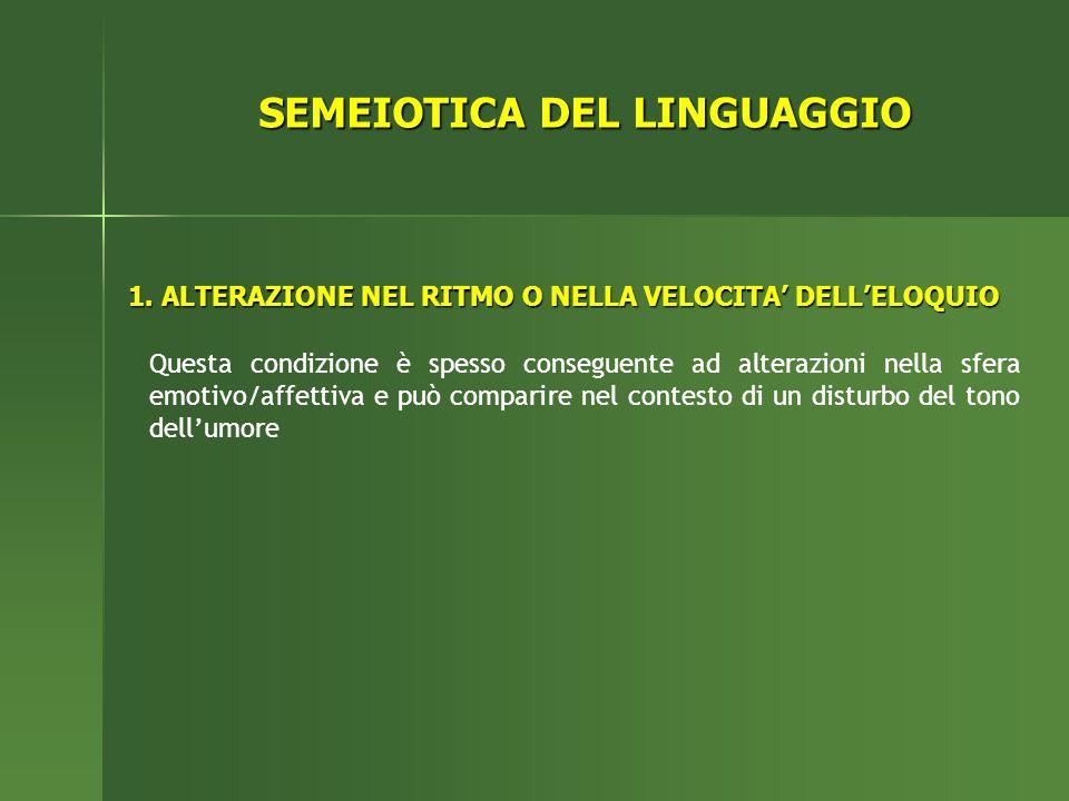SEMEIOTICA DEL LINGUAGGIO