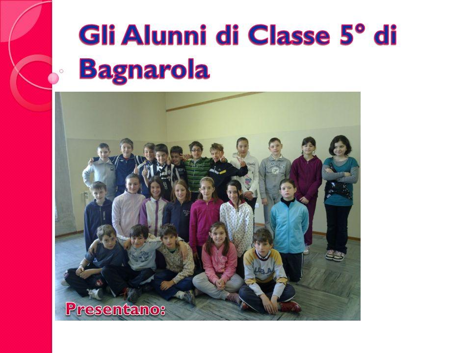 Gli Alunni di Classe 5° di Bagnarola