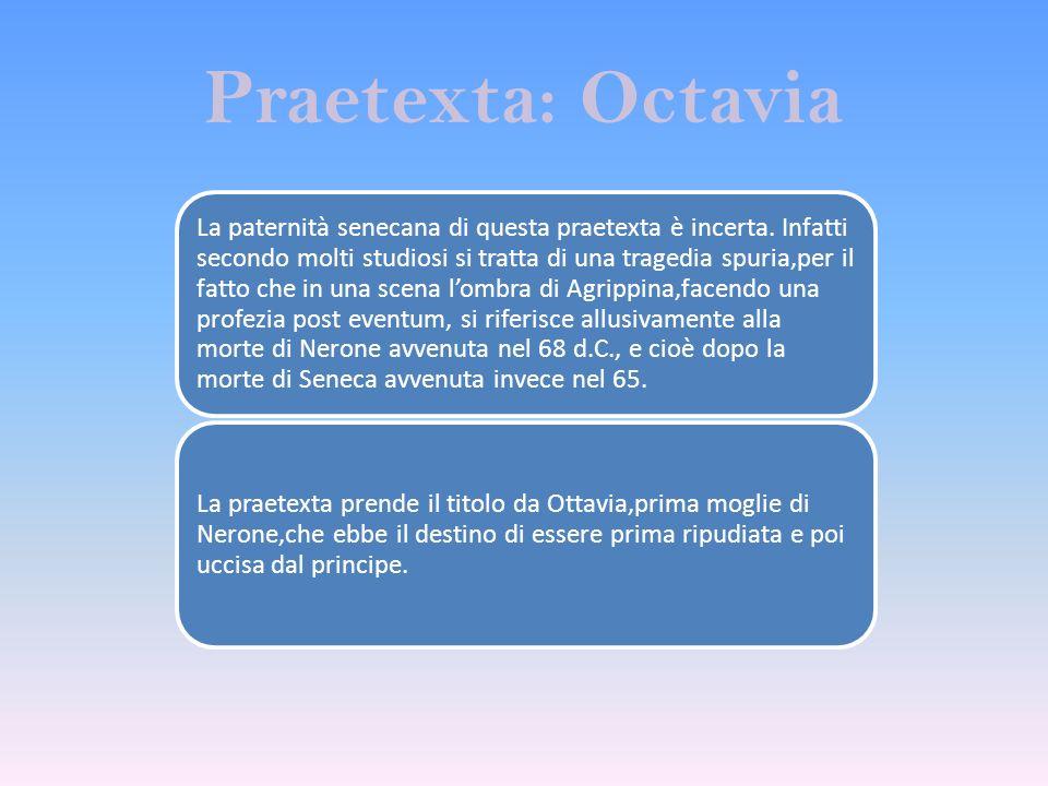 Praetexta: Octavia