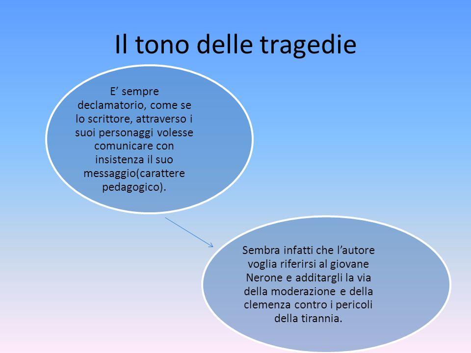 Il tono delle tragedie