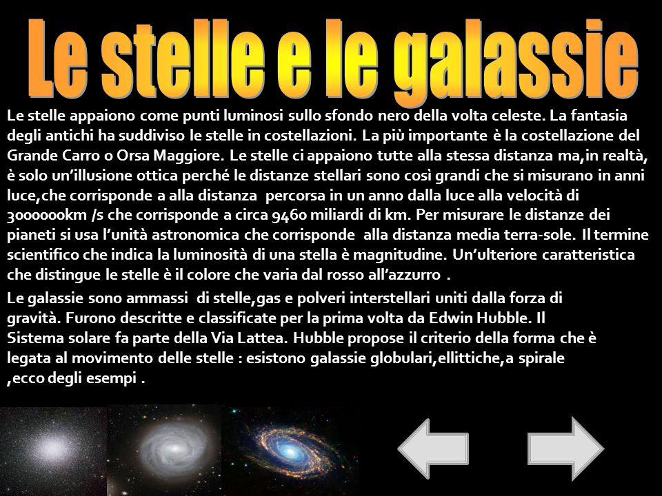 Le stelle e le galassie