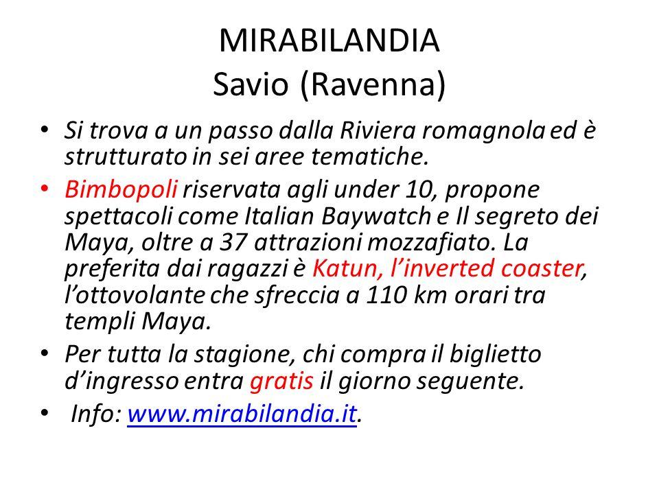 MIRABILANDIA Savio (Ravenna)