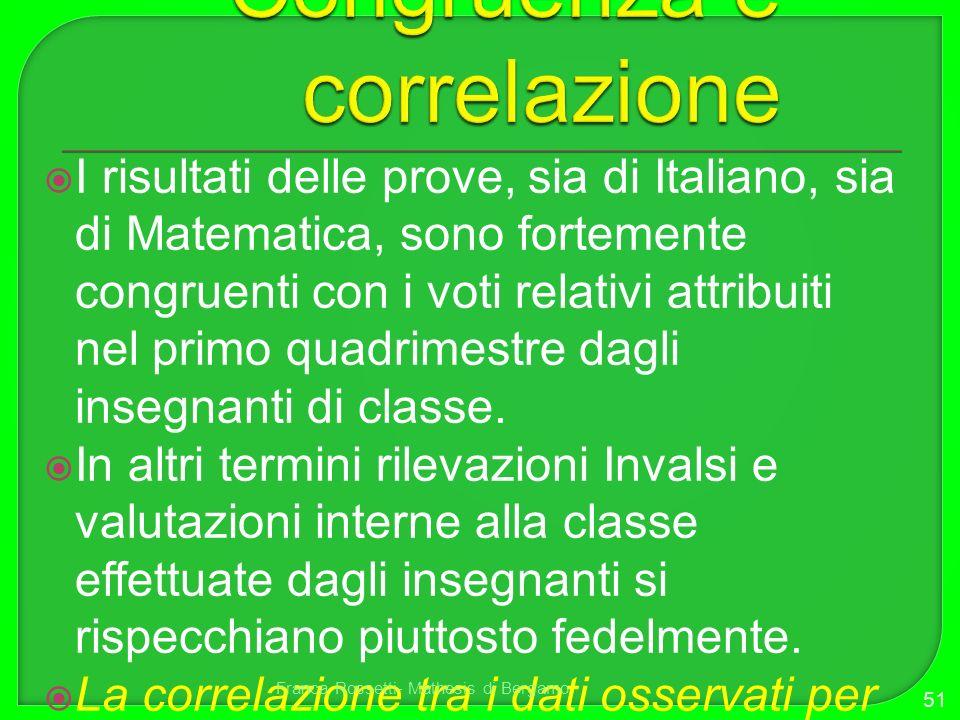 Congruenza e correlazione