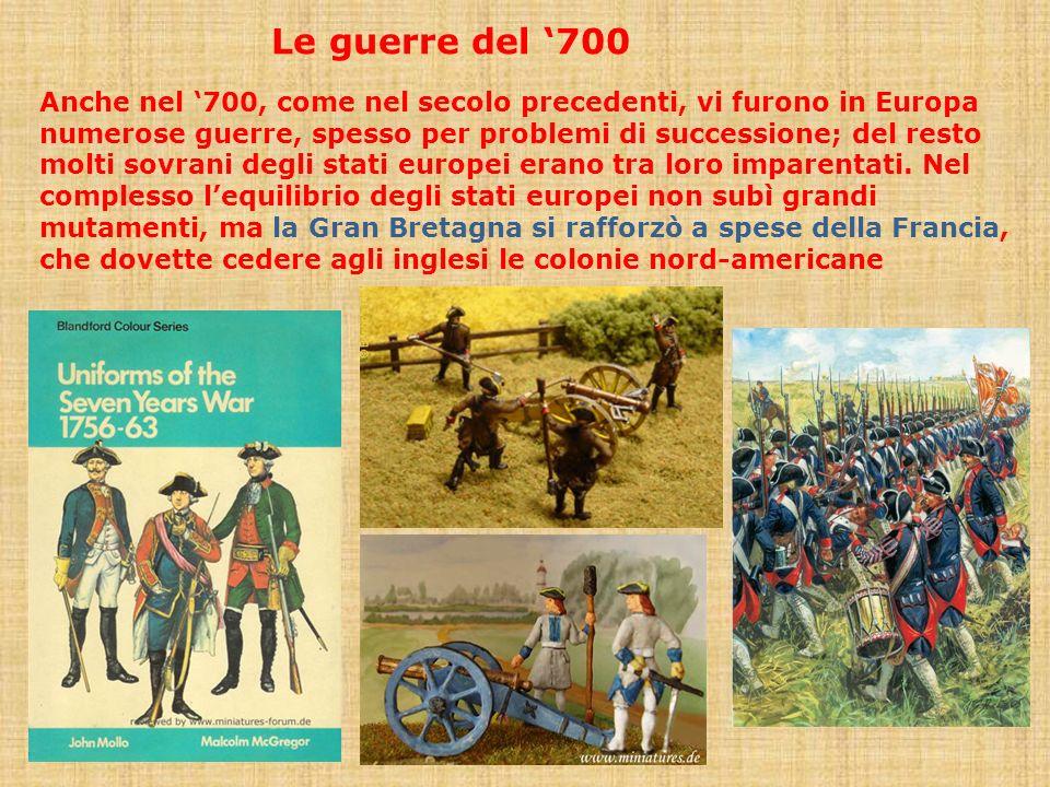 Le guerre del '700