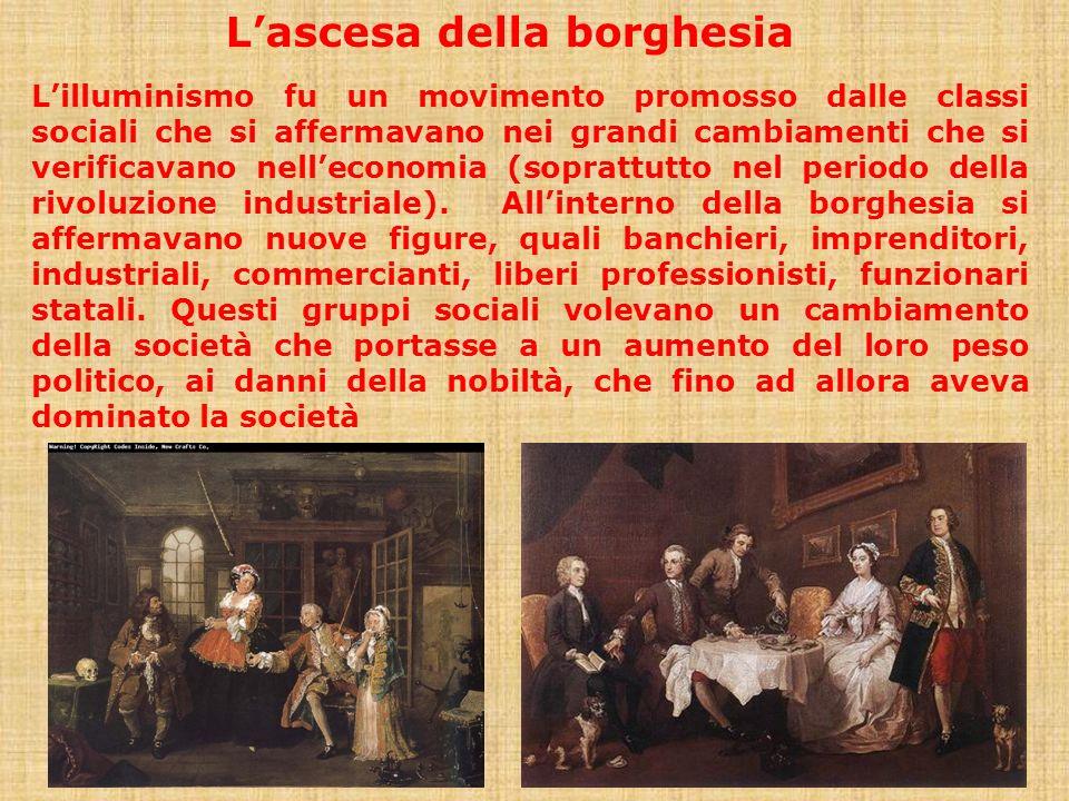 L'ascesa della borghesia