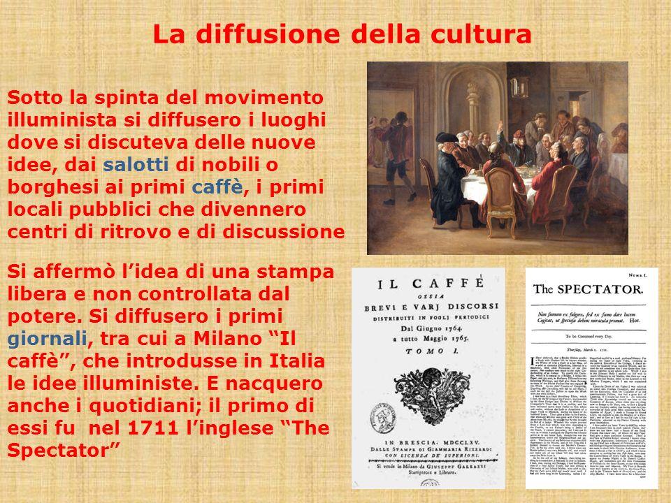 La diffusione della cultura