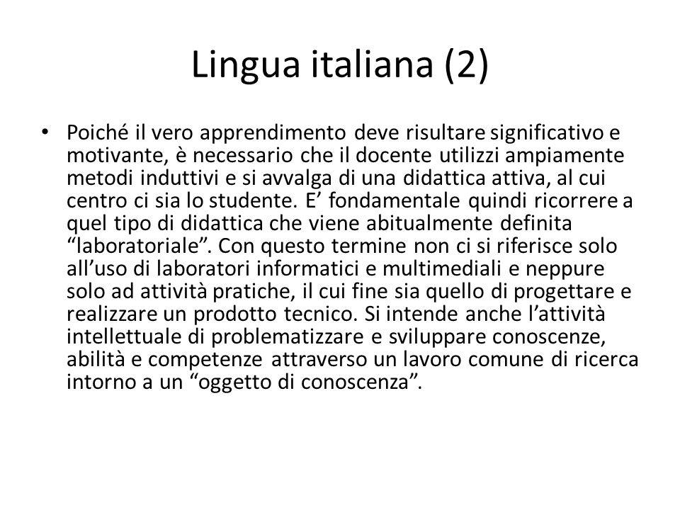 Lingua italiana (2)