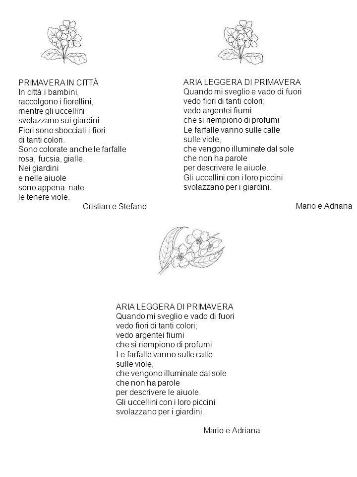 ARIA LEGGERA DI PRIMAVERA