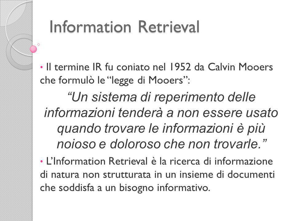 Information Retrieval