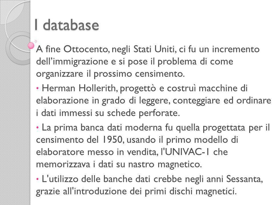 I database