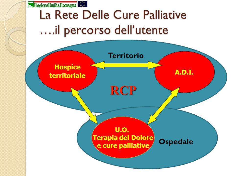 La Rete Delle Cure Palliative ….il percorso dell'utente
