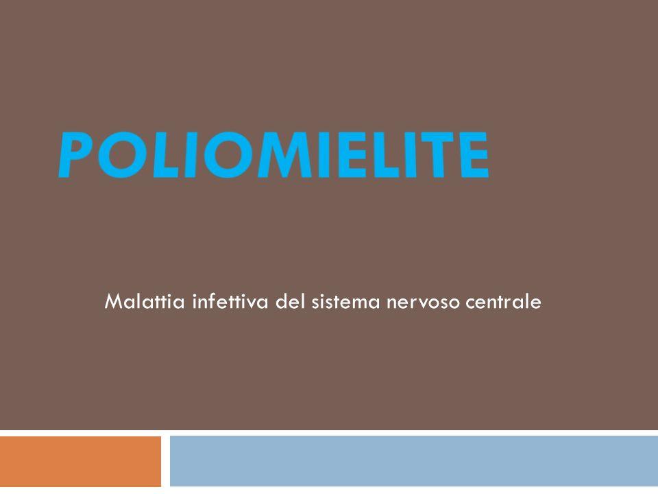 Malattia infettiva del sistema nervoso centrale