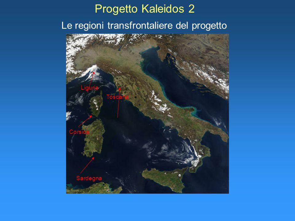 Le regioni transfrontaliere del progetto