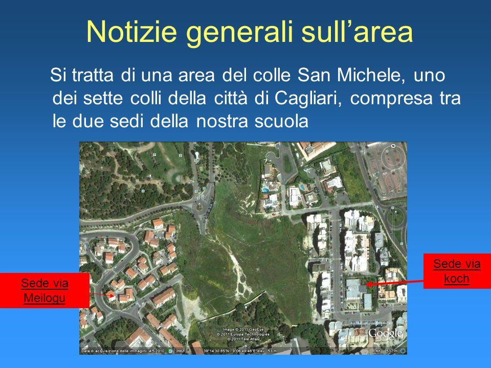 Notizie generali sull'area