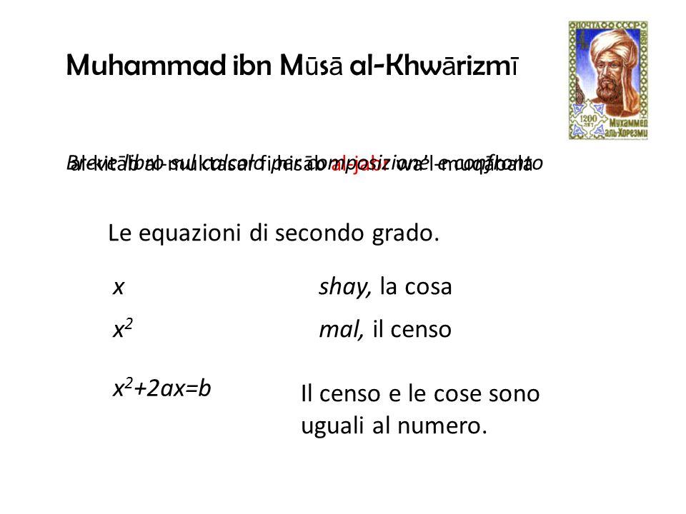 Muhammad ibn Mūsā al-Khwārizmī