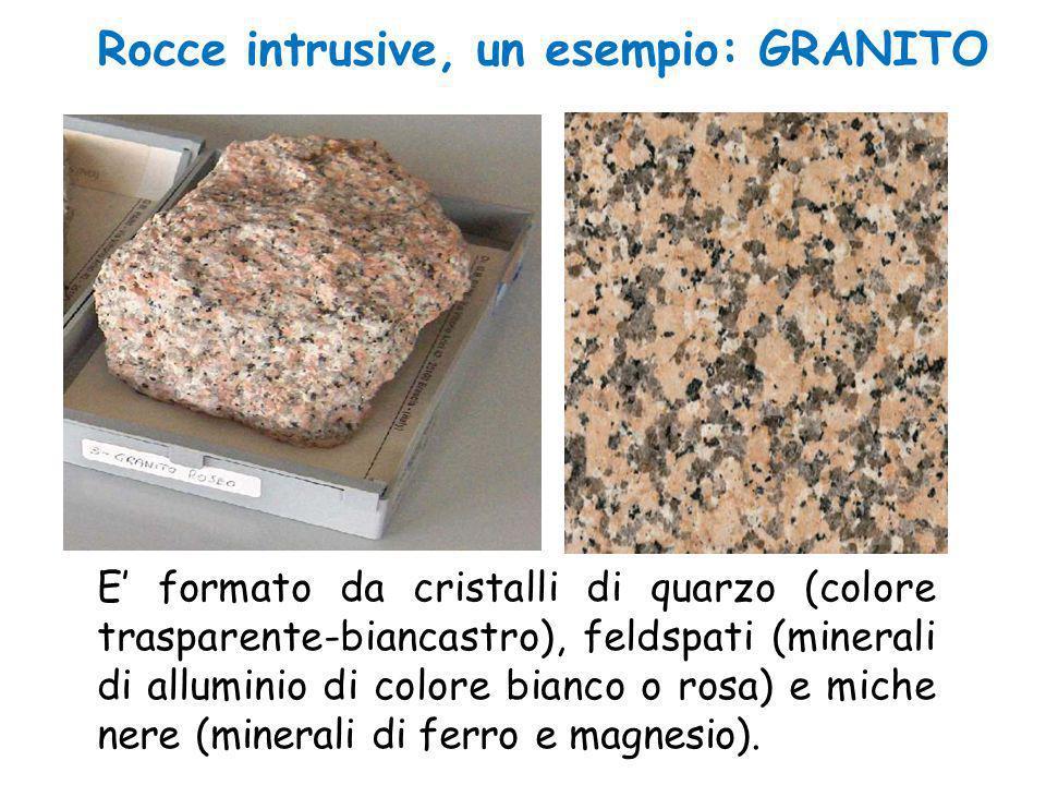 Rocce intrusive, un esempio: GRANITO