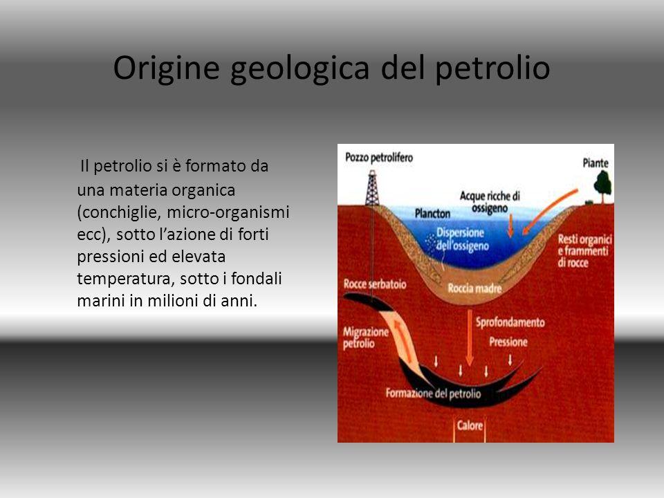 Origine geologica del petrolio