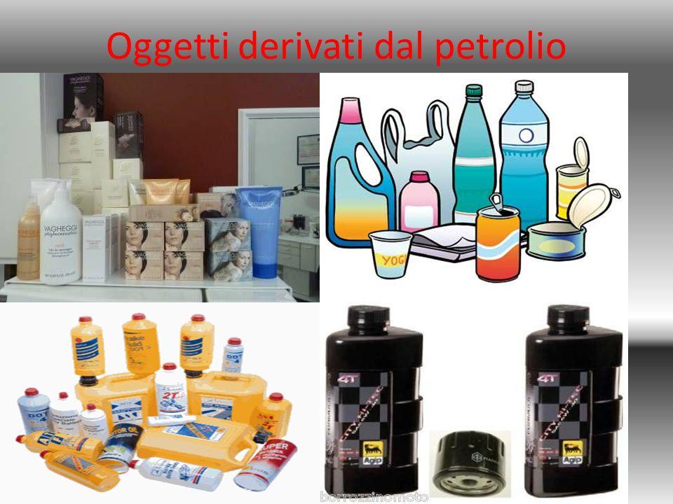 Oggetti derivati dal petrolio