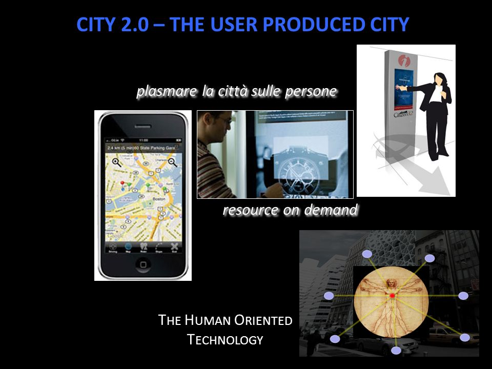 CITY 2.0 – THE USER PRODUCED CITY