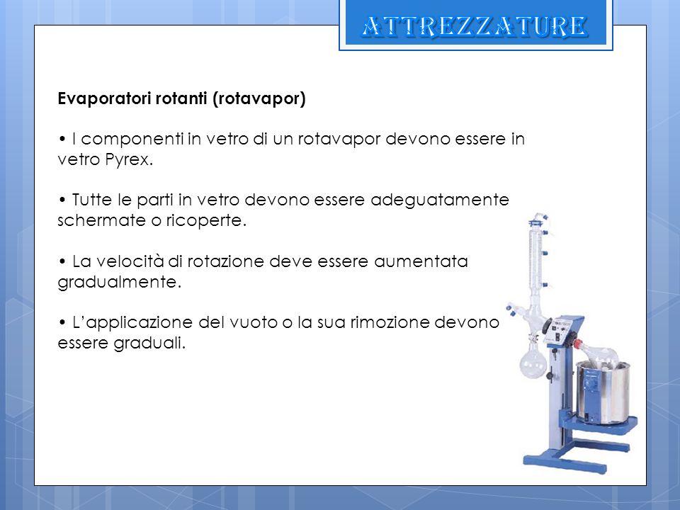 attrezzature Evaporatori rotanti (rotavapor)