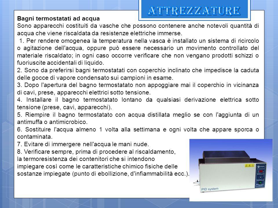 attrezzature Bagni termostatati ad acqua