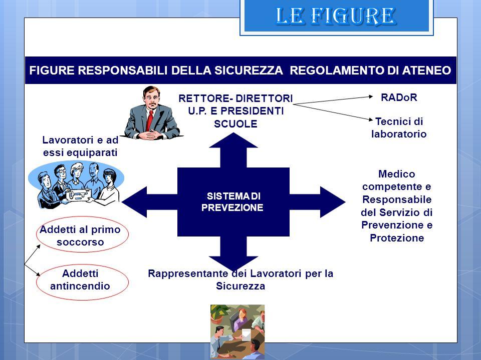 LE FIGURE FIGURE RESPONSABILI DELLA SICUREZZA REGOLAMENTO DI ATENEO