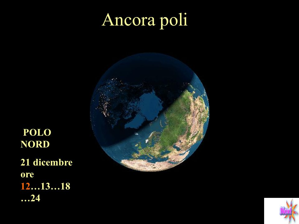 Ancora poli POLO NORD 21 dicembre ore 12…13…18…24