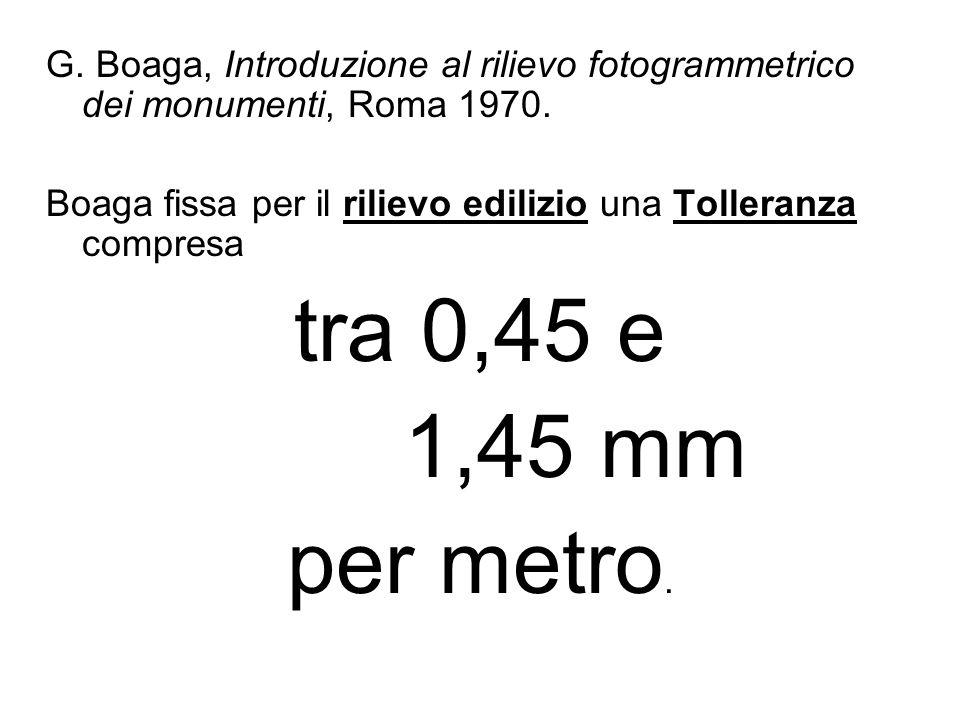 G. Boaga, Introduzione al rilievo fotogrammetrico dei monumenti, Roma 1970.