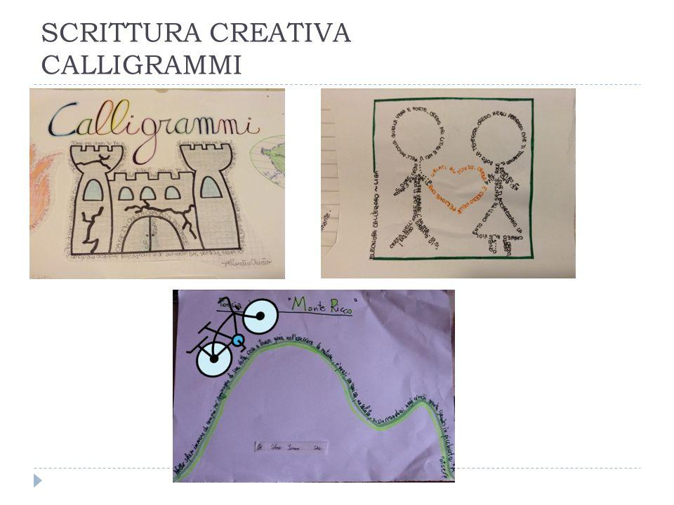 SCRITTURA CREATIVA CALLIGRAMMI