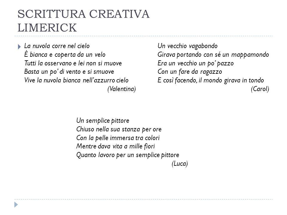 SCRITTURA CREATIVA LIMERICK