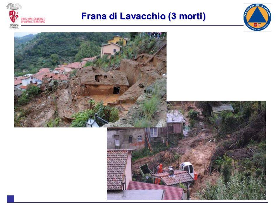 Frana di Lavacchio (3 morti)