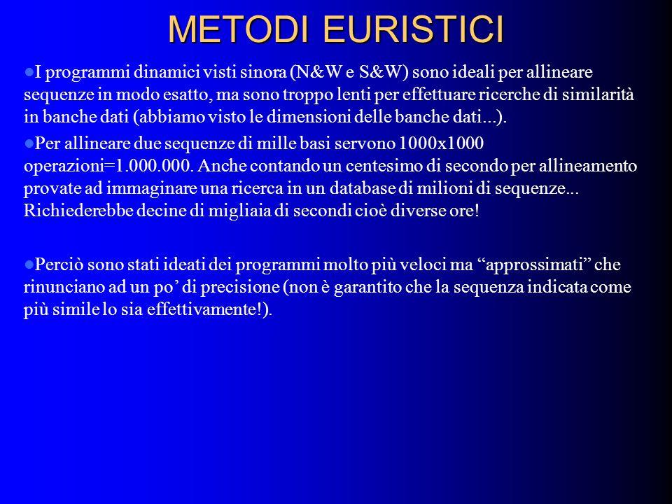 METODI EURISTICI