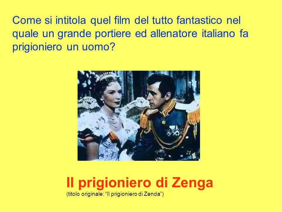 Il prigioniero di Zenga (titolo originale: Il prigioniero di Zenda )
