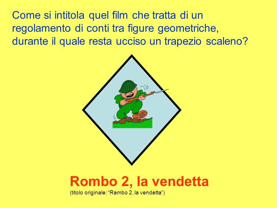 Rombo 2, la vendetta (titolo originale: Rambo 2, la vendetta )
