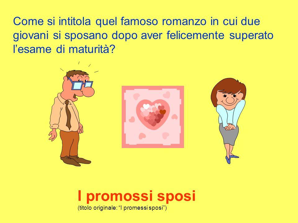 I promossi sposi (titolo originale: I promessi sposi )