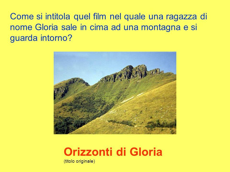 Orizzonti di Gloria (titolo originale)