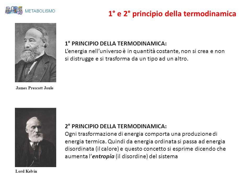 1° e 2° principio della termodinamica