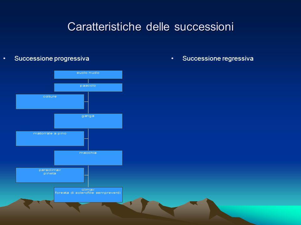 Caratteristiche delle successioni