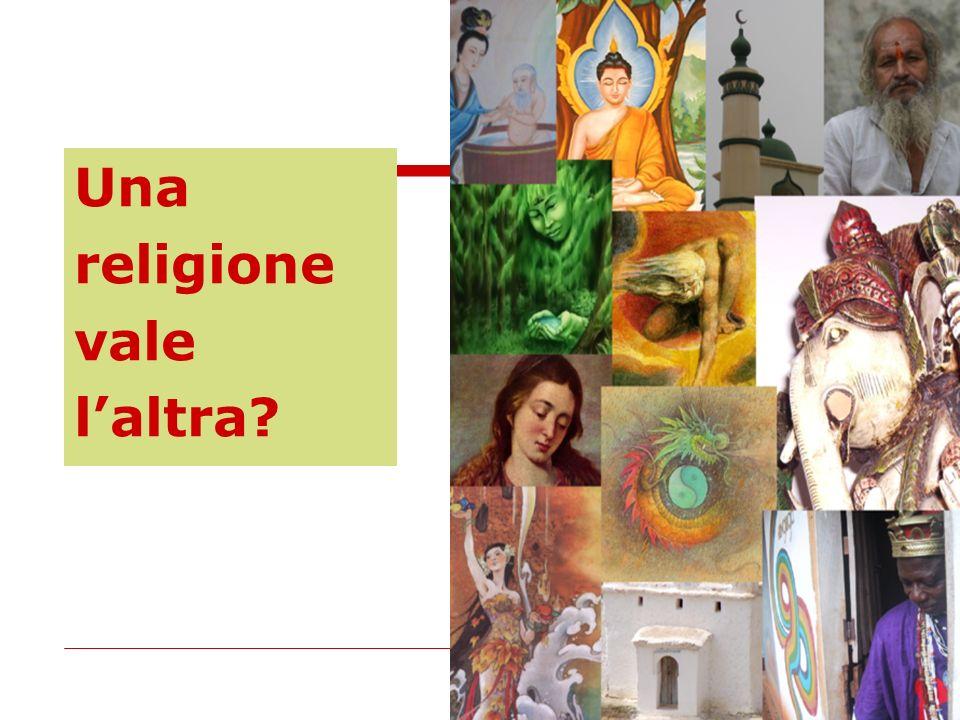 Una religione vale l'altra