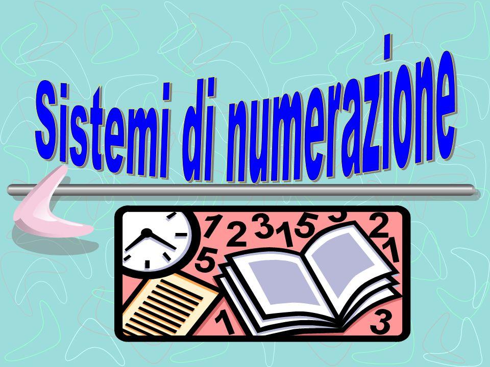 Sistemi di numerazione