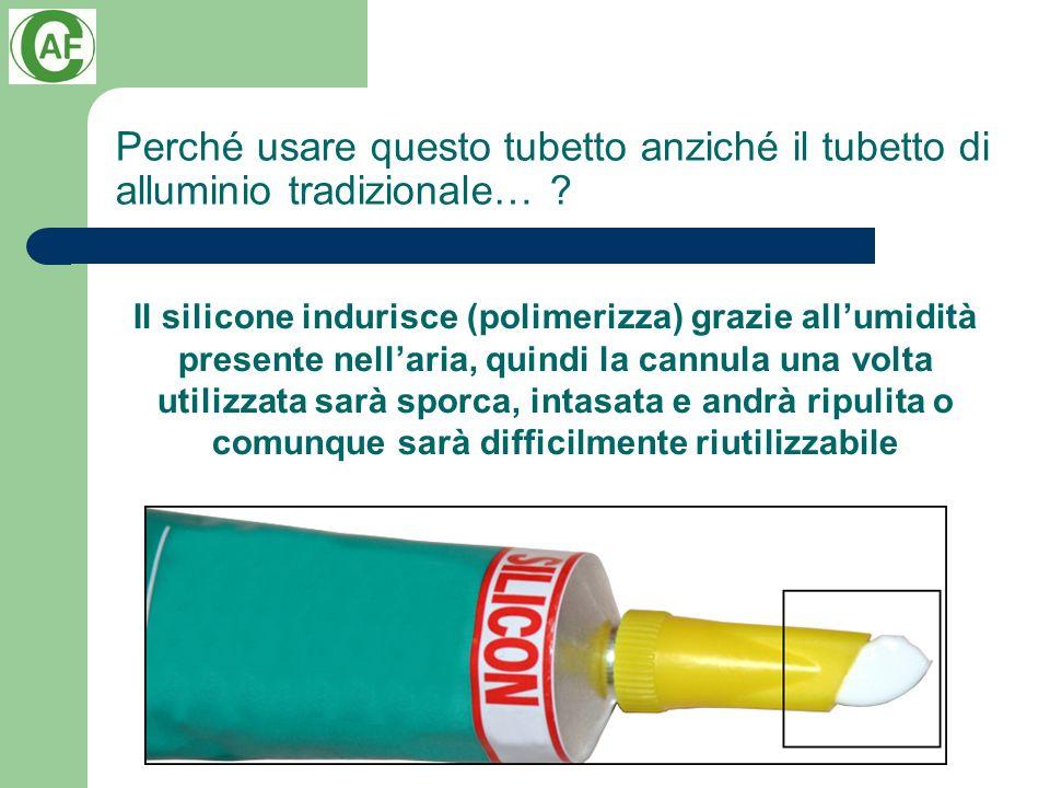 Perché usare questo tubetto anziché il tubetto di alluminio tradizionale…