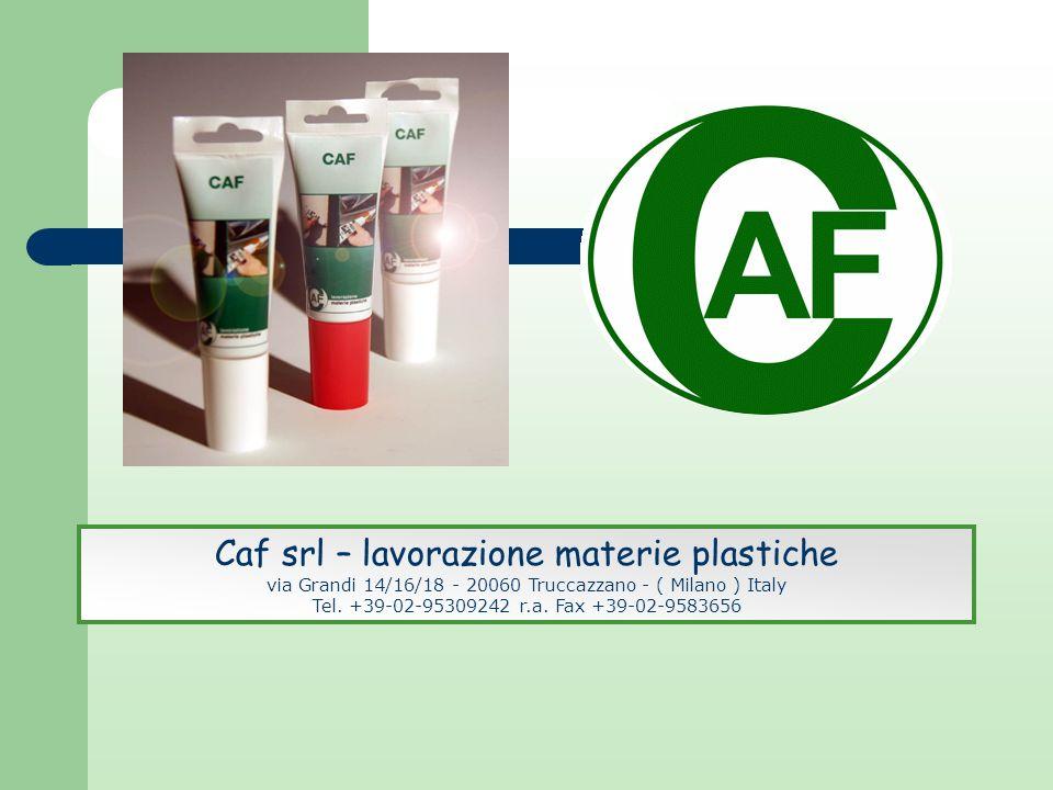 Caf srl – lavorazione materie plastiche