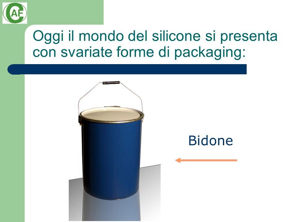 Oggi il mondo del silicone si presenta con svariate forme di packaging: