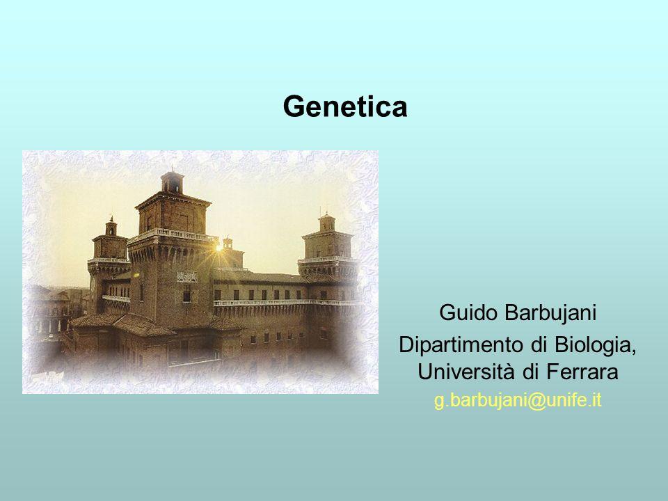 Dipartimento di Biologia, Università di Ferrara