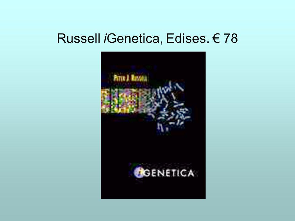 Russell iGenetica, Edises. € 78