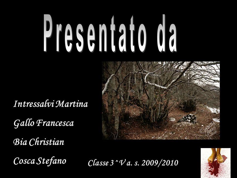 Presentato da Intressalvi Martina Gallo Francesca Bia Christian