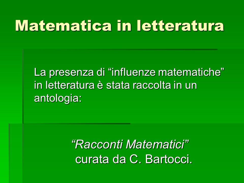 Matematica in letteratura