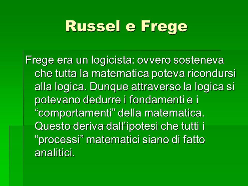 Russel e Frege