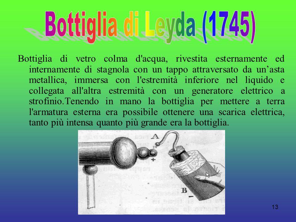 Bottiglia di Leyda (1745)